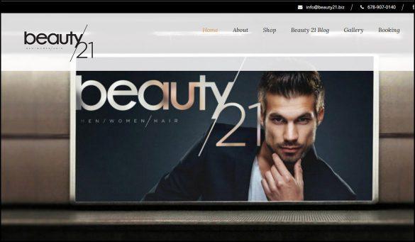 Beauty21 Ecommerce