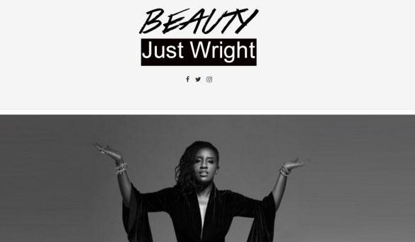 beauty just wright