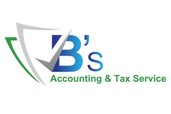 B's accounting & tax services logo design